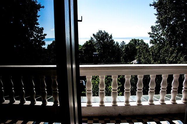 Výhled z terasy